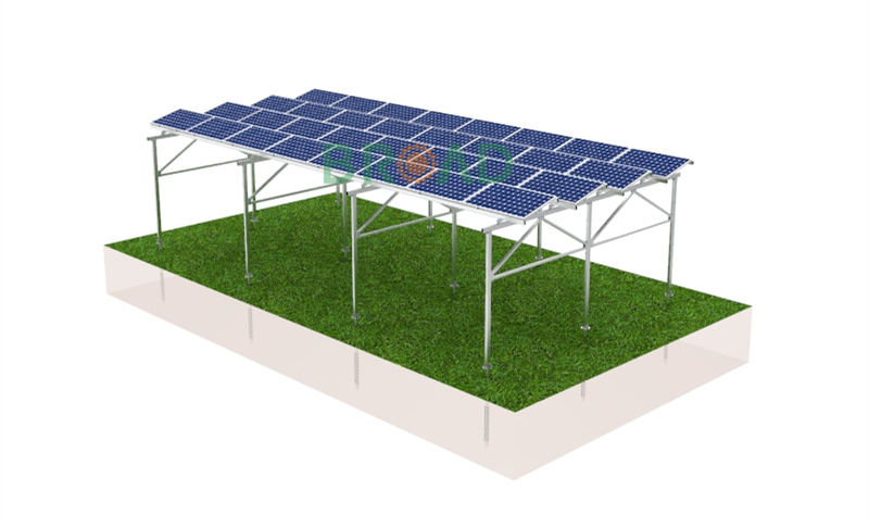 PV mounts for agriculture farming