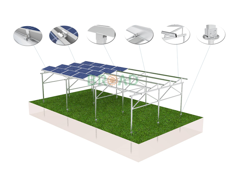 agriculture farming mounting structure