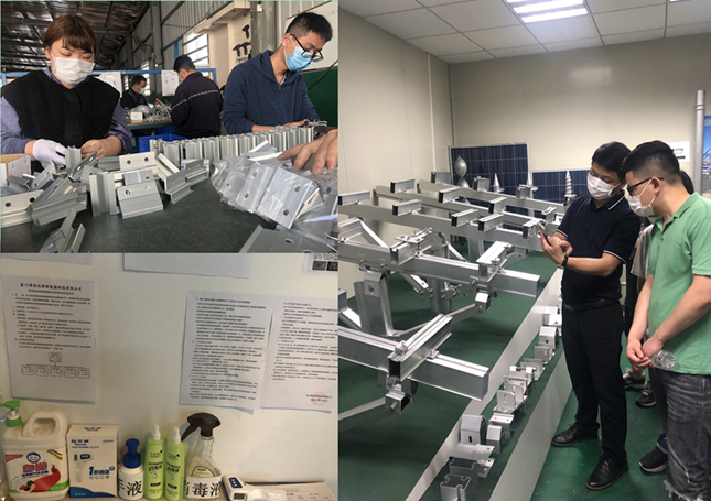 Solar mounting brackets factory